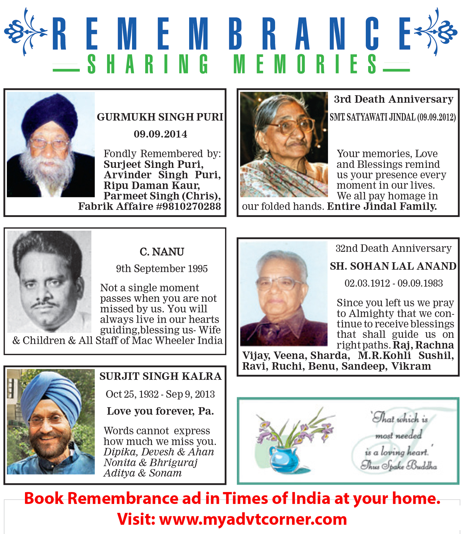 how to prepare an obituary ad for newspapers