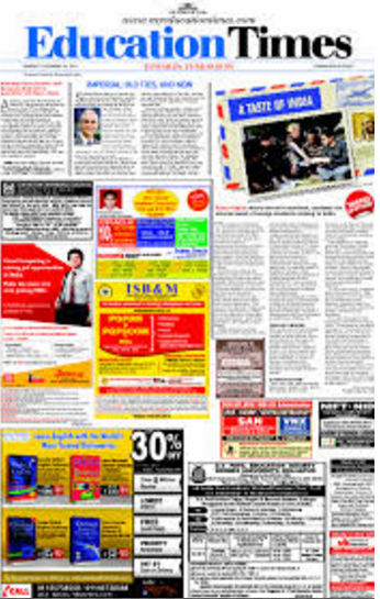 Education Times Ads