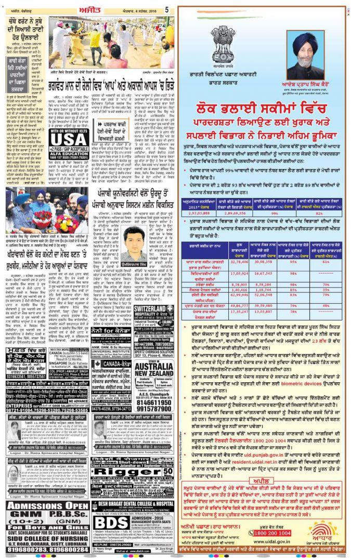 Reach Punjabis with ads in Ajit Punjabi   MyAdvtCorner – Blog