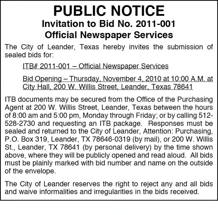NOTIFY THE PEOPLE AT LARGE VIA DECCAN CHRONICLE PUBLIC NOTICE ...