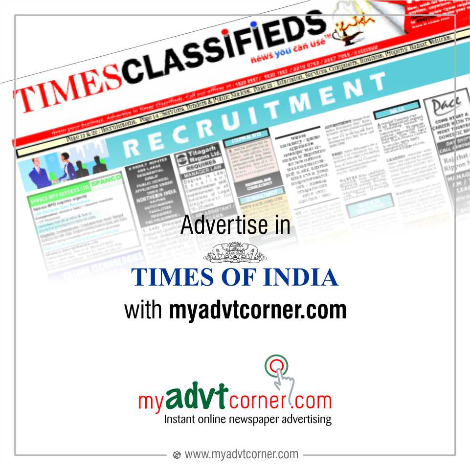 The Times of India Newspaper Ads