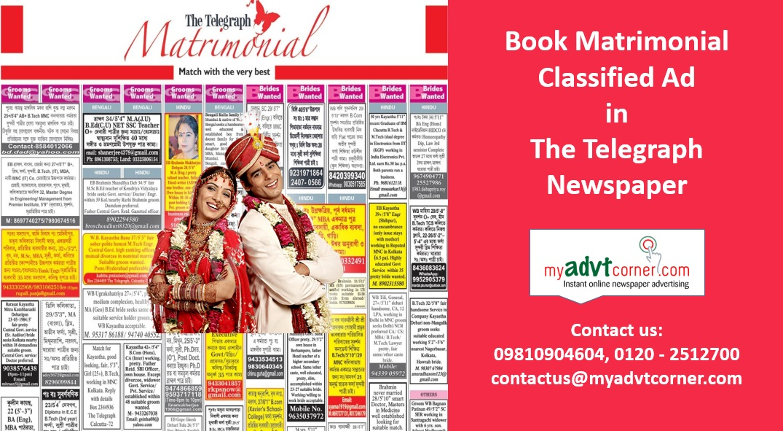 The-Telegraph-Matrimonial-Ads