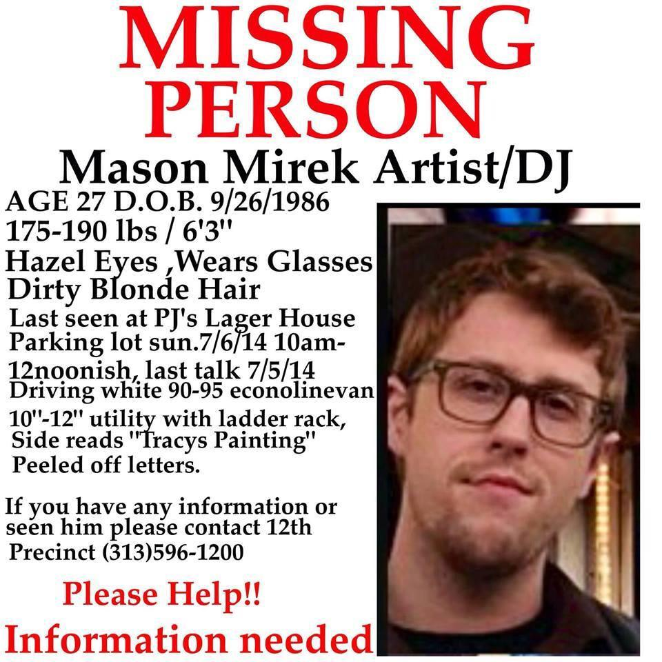 Missing Person Advertisement
