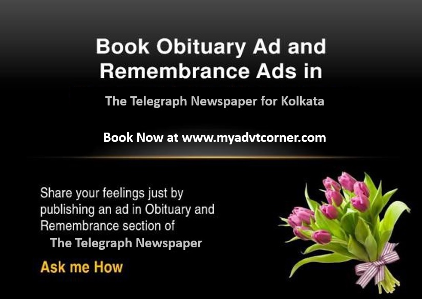 The Telegrah Obituary Ads