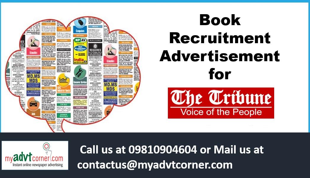 The Tribune Job Vacancy Ads