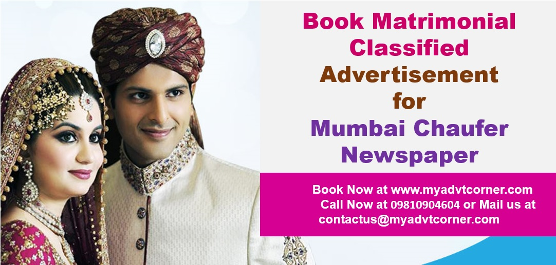 Mumbai Chaufer Matrimonial Ads