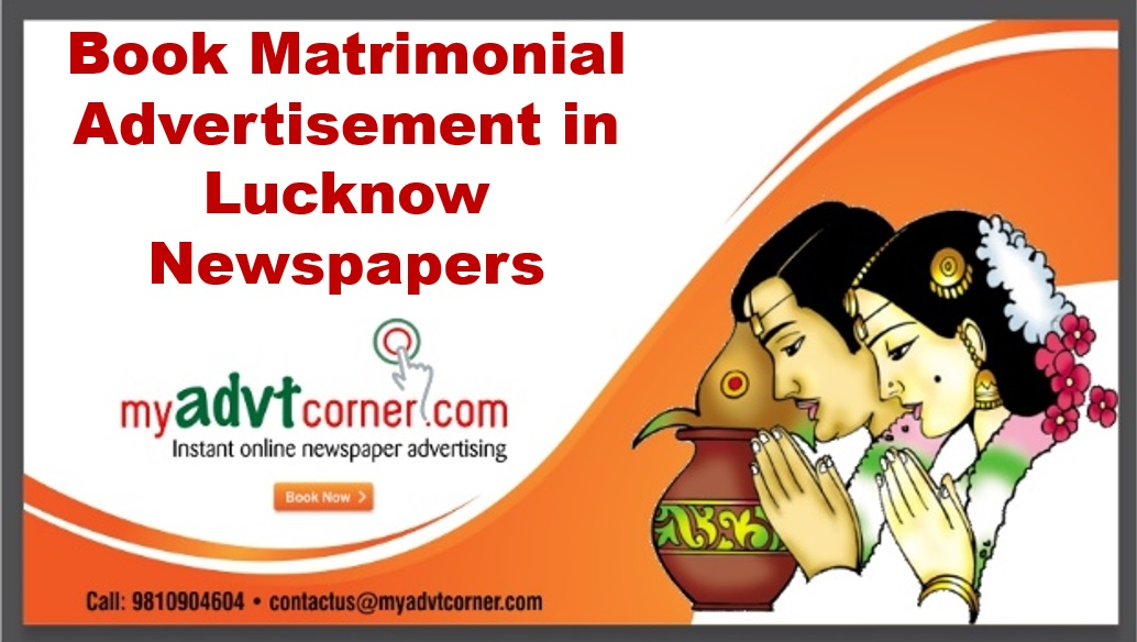 Matrimonial Ads in Lucknow Newspapers