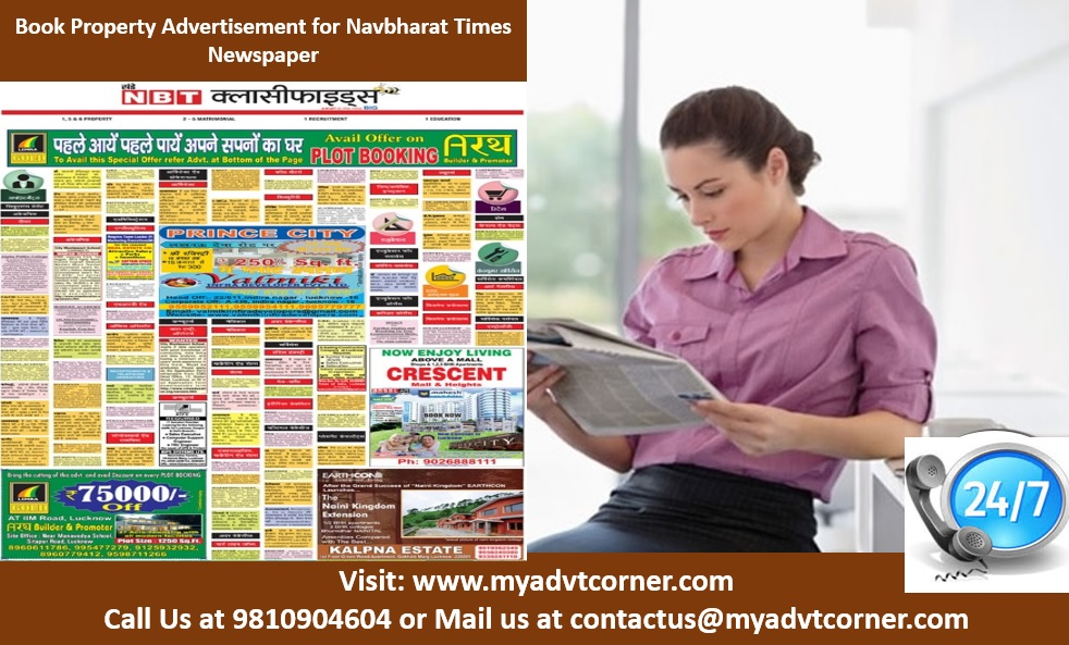 Navbharat Times Property Advertisement