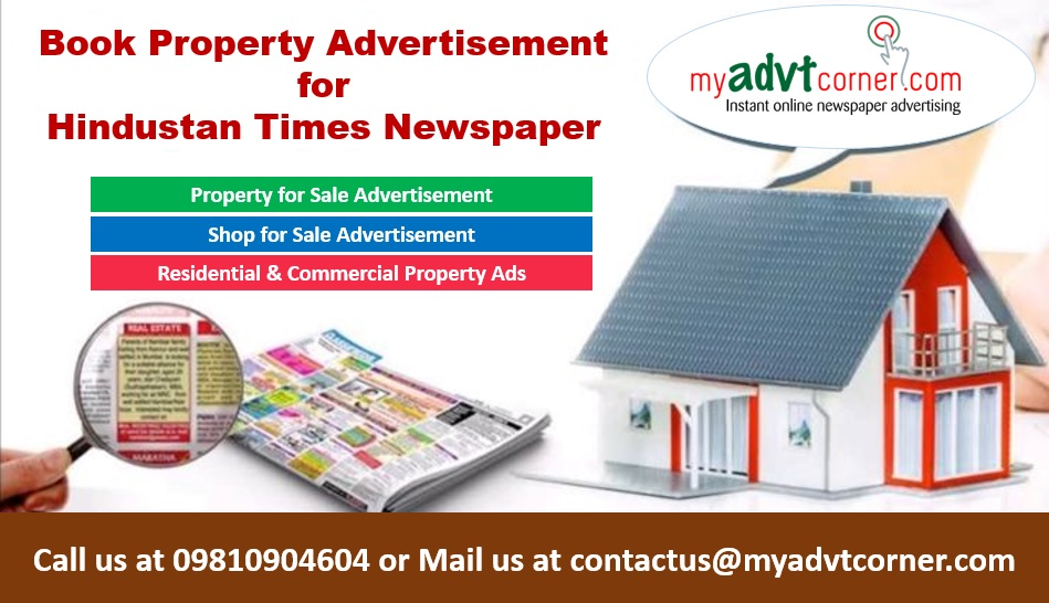 Hindustan Times Property Classified Ads