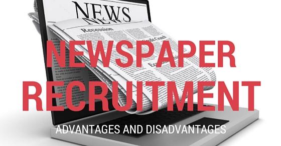 Newspaper-Recruitment-Advantages-Disadvantages