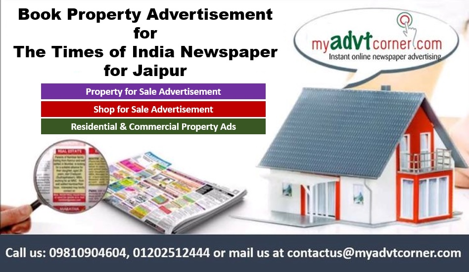Times of India Jaipur Property Ads