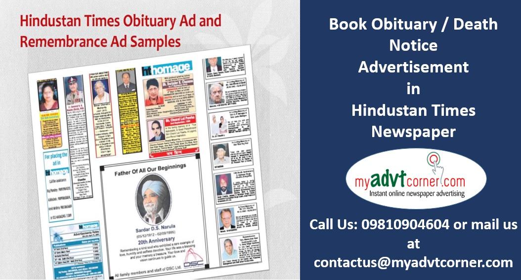 Hindustan-Times-Obituary-Ads