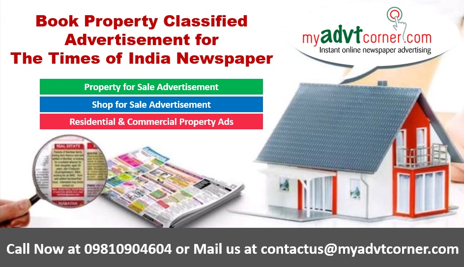 Times of India Property Classified Ads