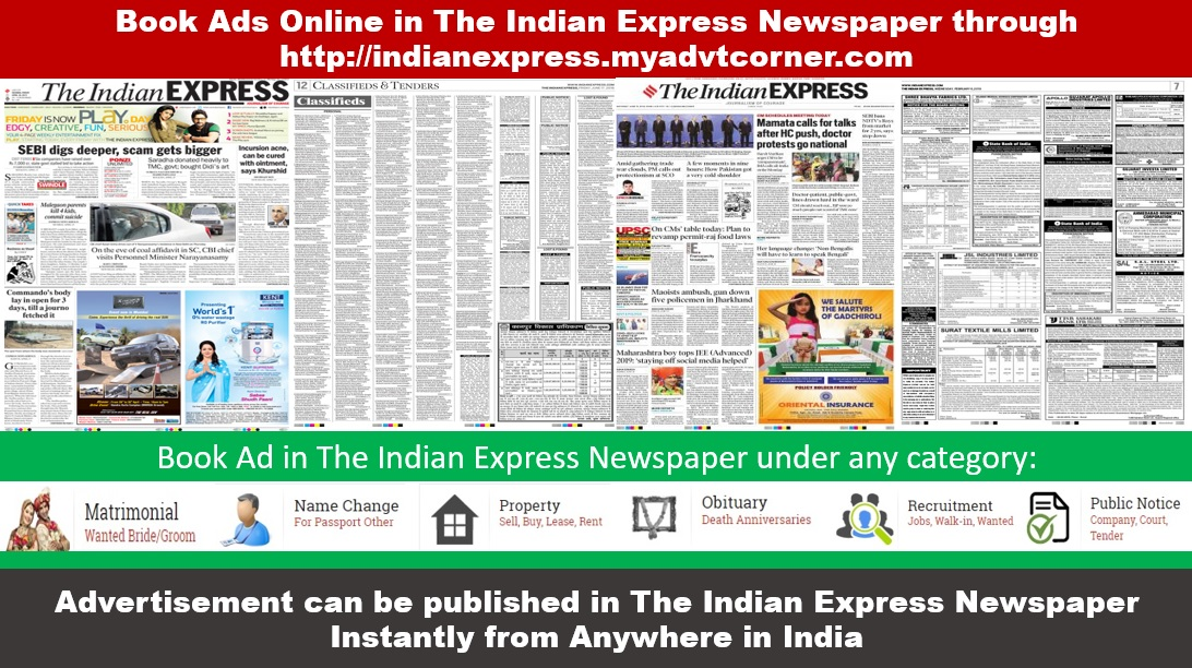The Indian Express Newspaper Ads
