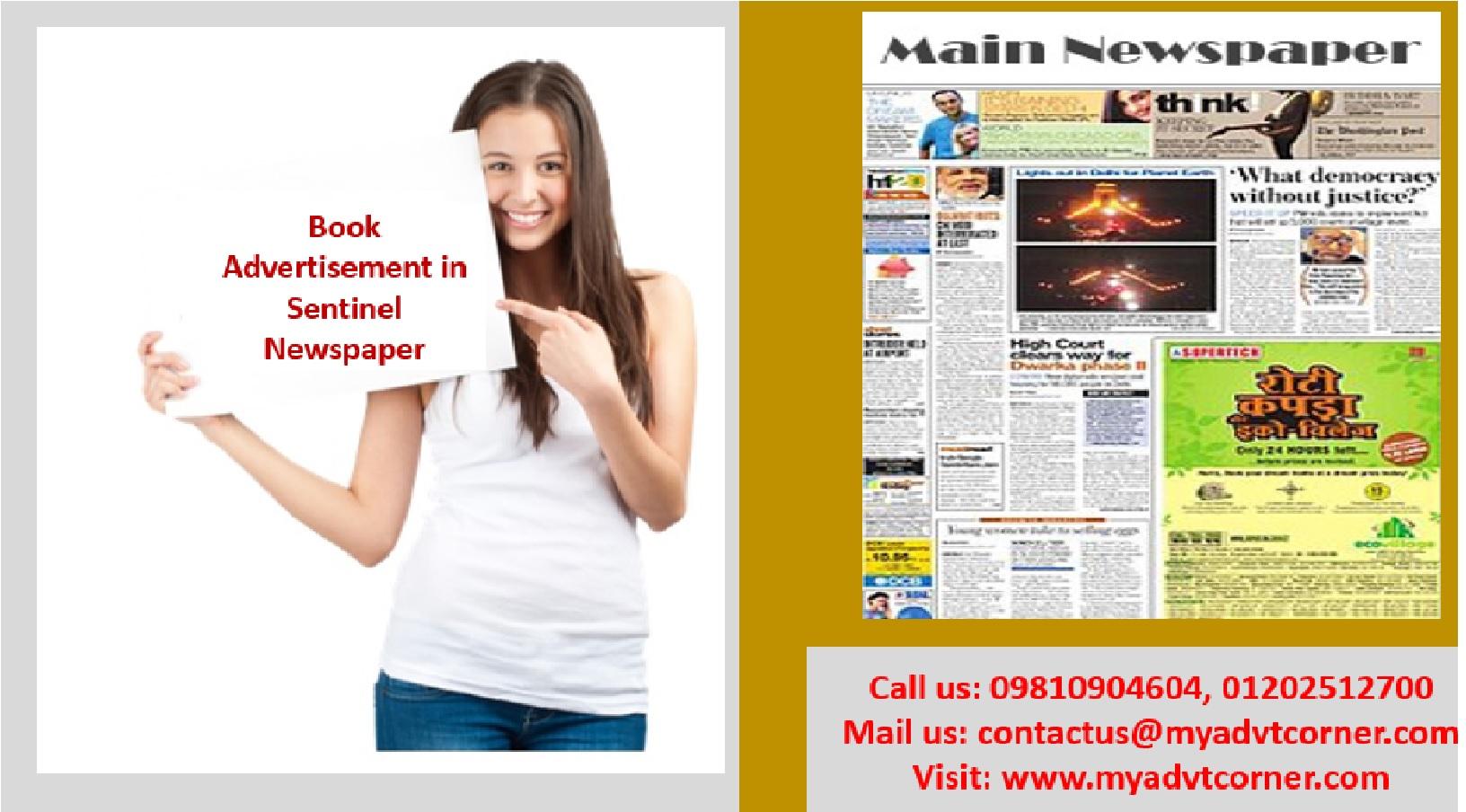 Sentinel Newspaper Ads