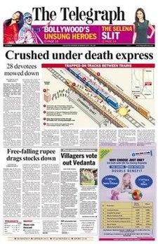 The Telegraph Newspaper Ads